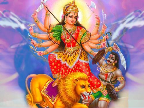 Devi Durga Hd Greetings