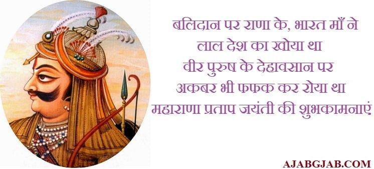 Maharana Pratap Jayanti Pics