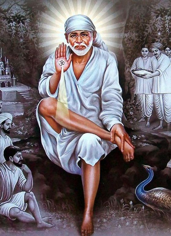 Sai Baba Beautiful Pics