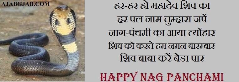 Famous Nag Panchami Shayari
