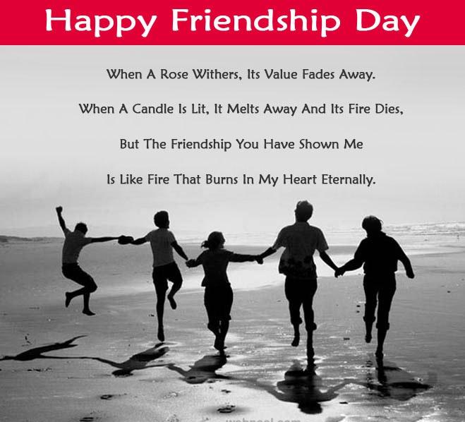 Happy Friendship Day Hd Greetings For Desktop