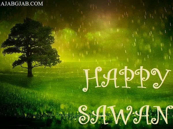 Happy Sawan Hd Wallpaper Free Download