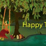 Hariyali Teej Hd Greetings