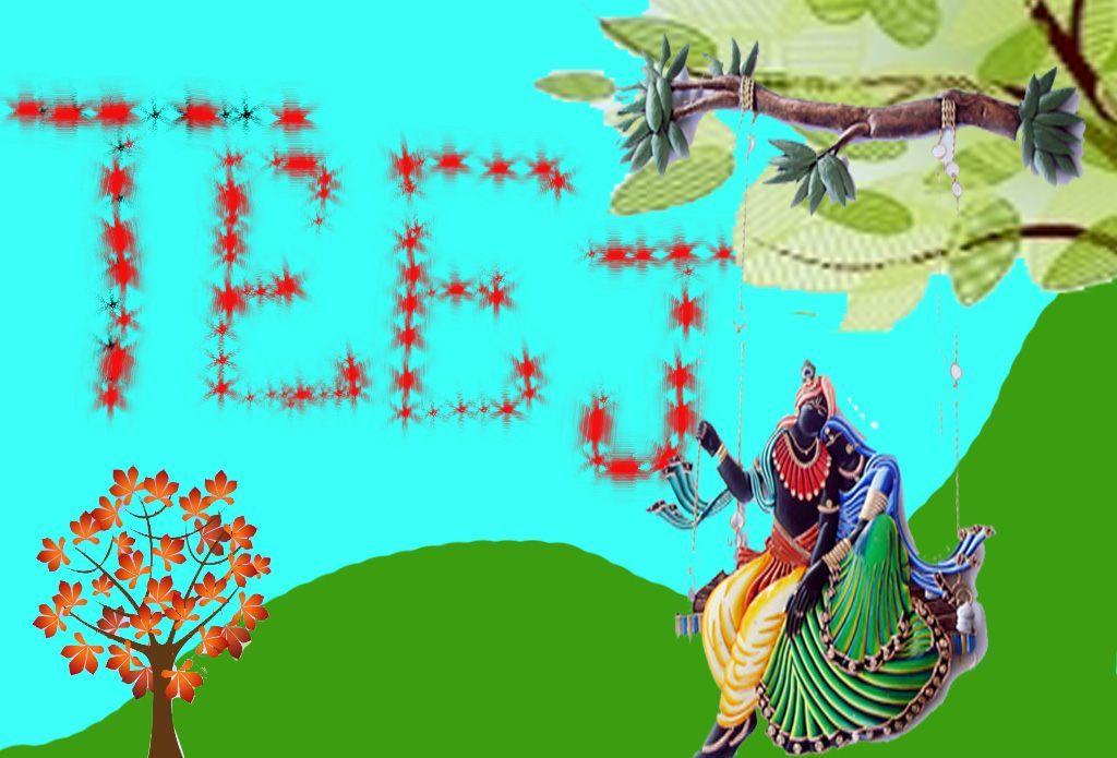 Hariyali Teej Hd Images For Facebook