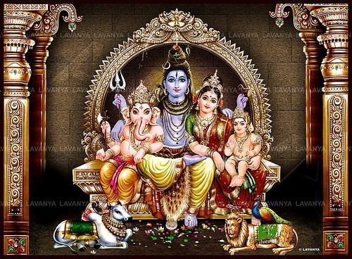 Latest Shiv Parivar Hd Greetings