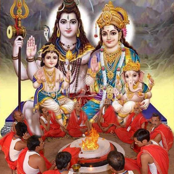 Shiv Parivar Hd Greetings For Desktop