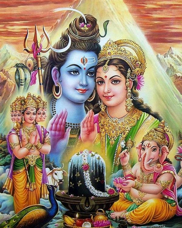Shiv Parivar Hd Greetings