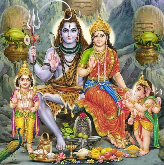 Shiv Parivar Hd Images For WhatsApp