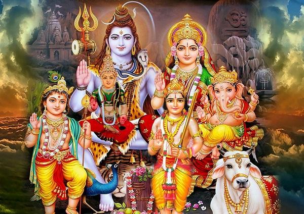 Shiv Parivar Hd Images