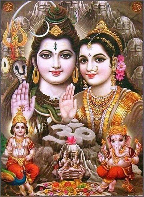 Shiv Parivar Hd Photos For WhatsApp