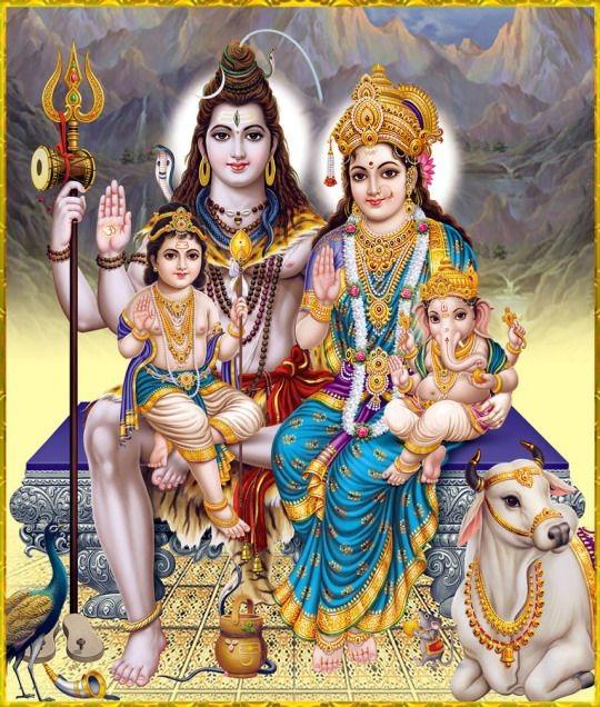 Shiv Parivar Hd Photos
