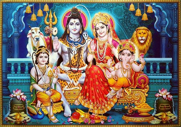 Shiv Parivar Hd Wallpaper For Desktop