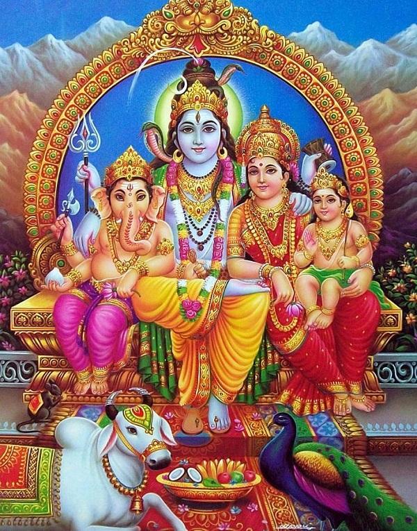 Shiv Parivar Hd Wallpaper Free Download
