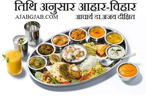 Tithi Anusar Aahar Vihar