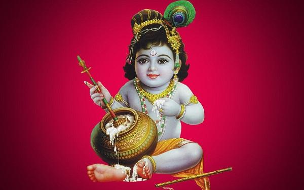 Bal Gopal Hd Greetings For Facebook