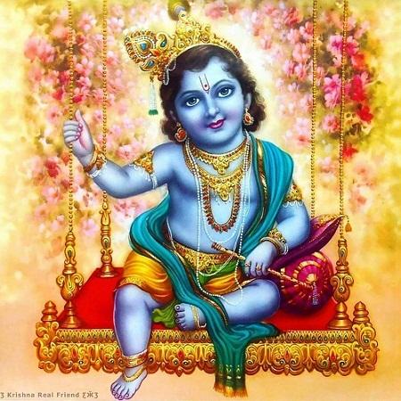 Bal Gopal Hd Greetings For WhatsApp