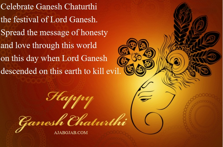 Ganesh Chaturthi Messages In English For Facebook