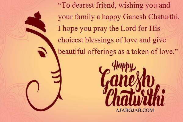 Ganesh Chaturthi Quotes In English