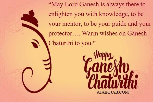 Ganesh Chaturthi Status In English