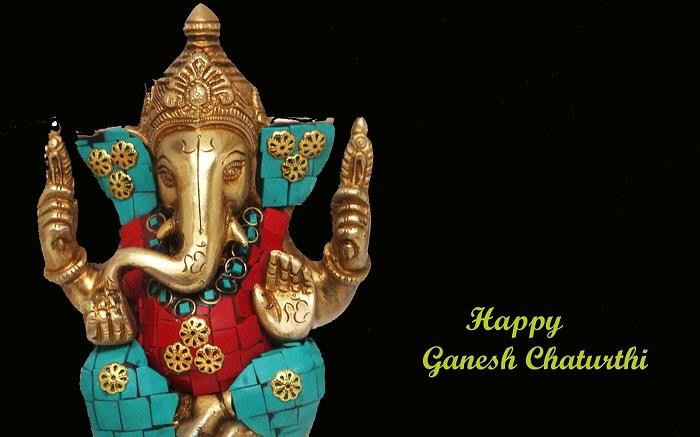 Happy Ganesh Chaturthi 2019 Hd Greeting For Desktop