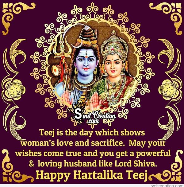 Happy Hartalika Teej Greetings