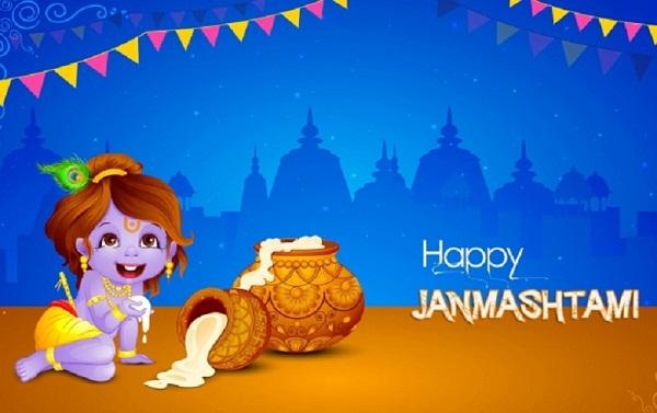 Happy Janmashtmi Hd Greetings For Desktop