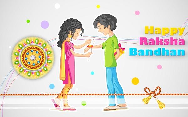 Happy Raksha Bandhan Hd Greetings For WhatsApp
