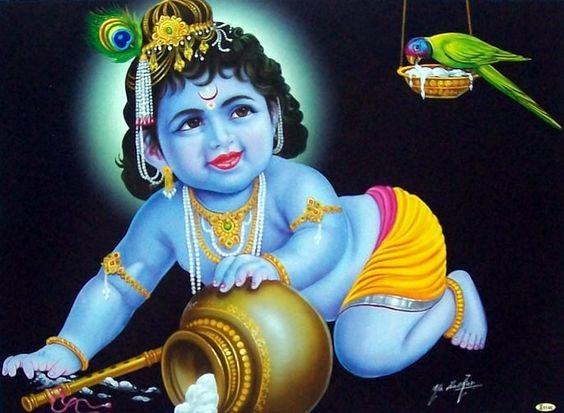 Latest Bal Gopal Hd Greetings