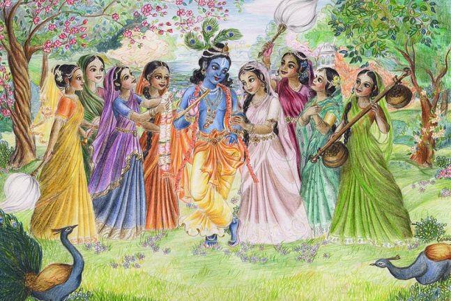 Lord Krishna Hd Greetings For Mobile