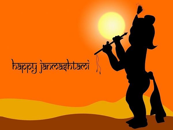 Shri Krishna Janmashtmi Hd Greetings 2019