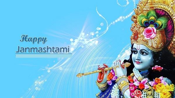 Shri Krishna Janmashtmi Hd Greetings For Desktop