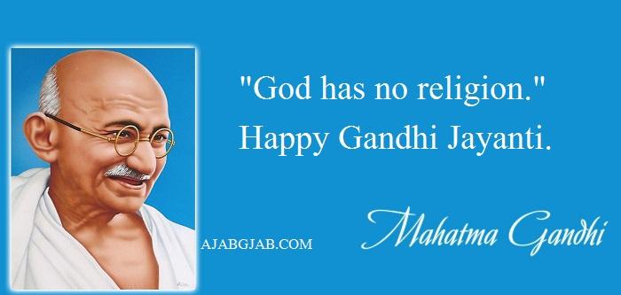 Gandhi Jayanti Slogans In English With Images
