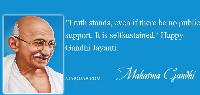 Gandhi Jayanti Status In English For Facebook