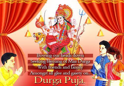 Happy Durga Puja Hd Greetings For Facebook