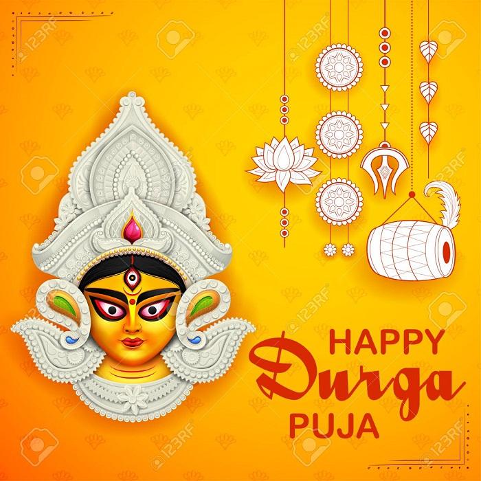 Happy Durga Puja Hd Wallpaper 2019