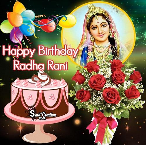 Happy Radha Ashtami Hd Cards 2019