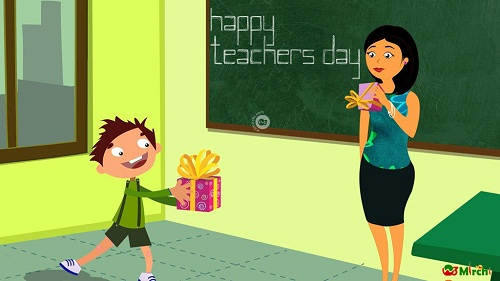 Happy Teachers Day Greetings For Kids