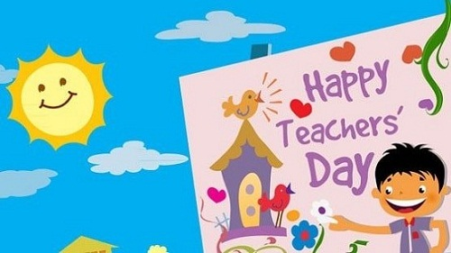 Happy Teachers Day Photos For Kids