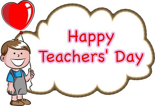 Happy Teachers Day Photos For Kids