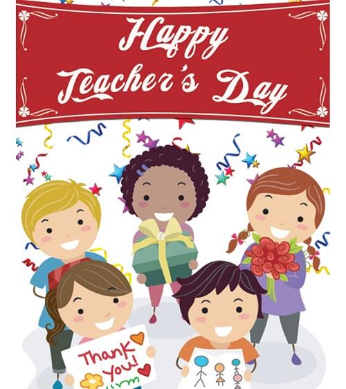 Happy Teachers Day Pics For Kids