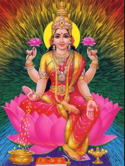 Mahalakshmi Hd Greetings For Mobile