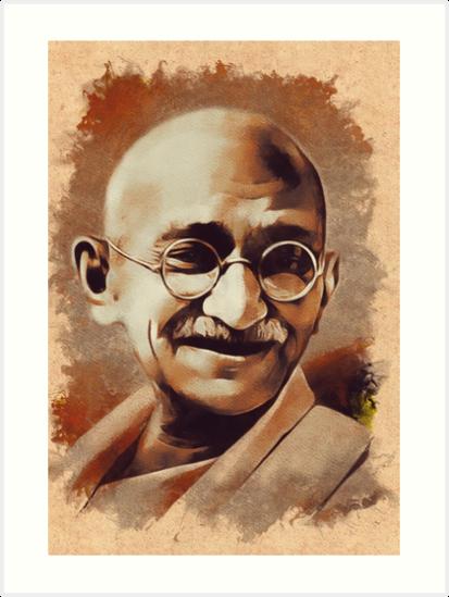Mahatma Gandhi Hd Wallpaper Free Download