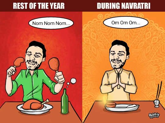 Navratri Funny Pictures For WhatsApp