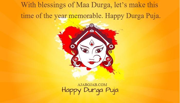 Durga Puja Slogans In English