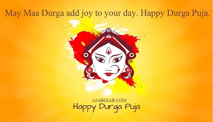 Durga Puja Status In English