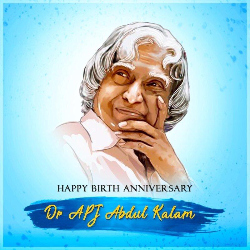 Happy Abdul Kalam Jayanti Hd Images