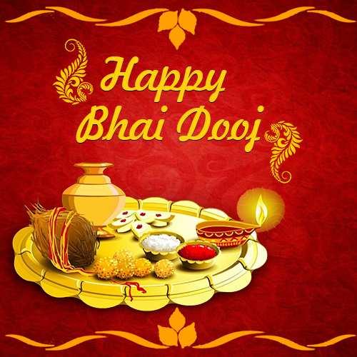 Happy Bhai Dooj 2019 Hd Greetings Free Download