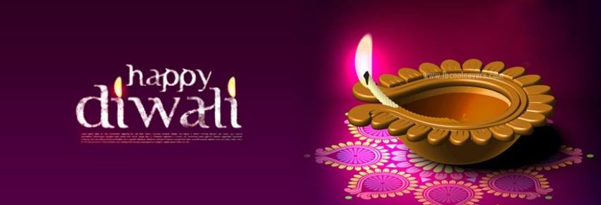 Happy Diwali Facebook Cover Banners 2019