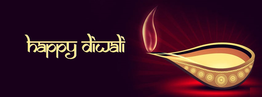 Happy Diwali Facebook Cover Banners For Mobile