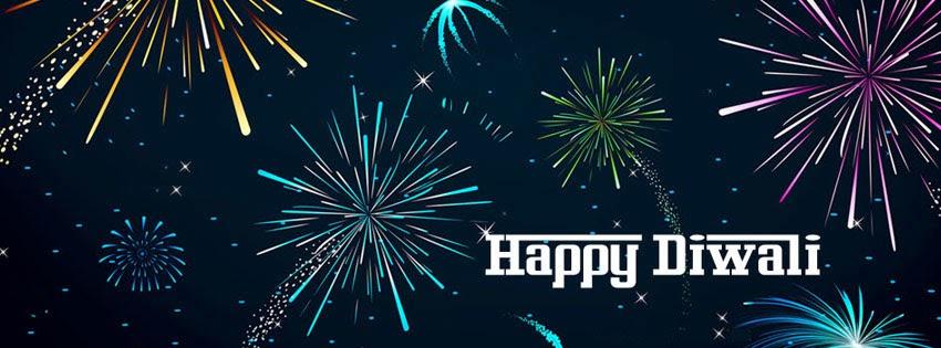 Happy Diwali Facebook Cover Greetings 2019
